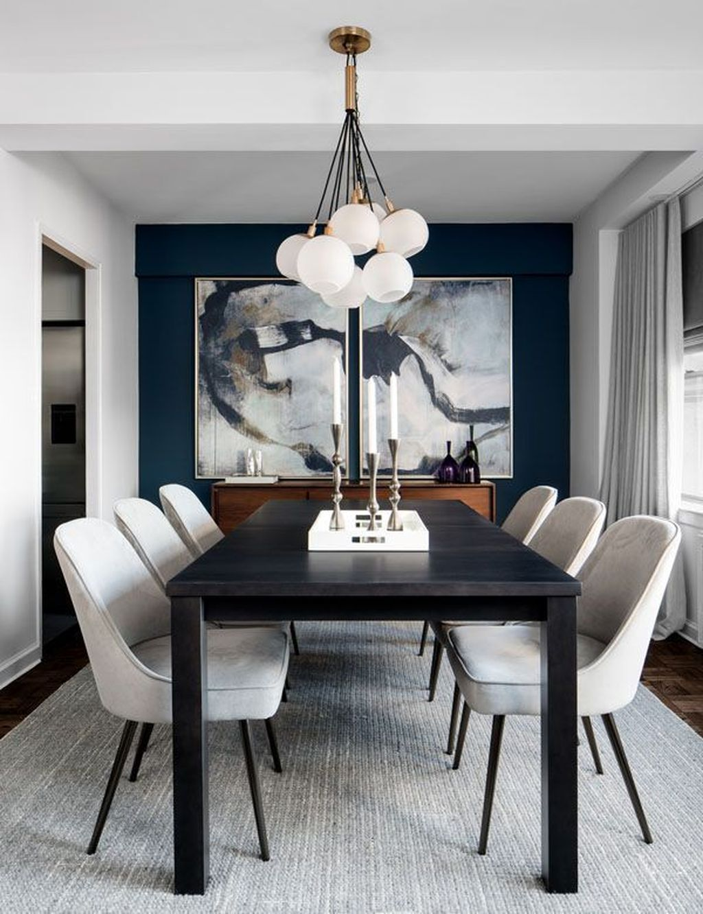 Lovely Family Dining Room Design And Decor Ideas 13