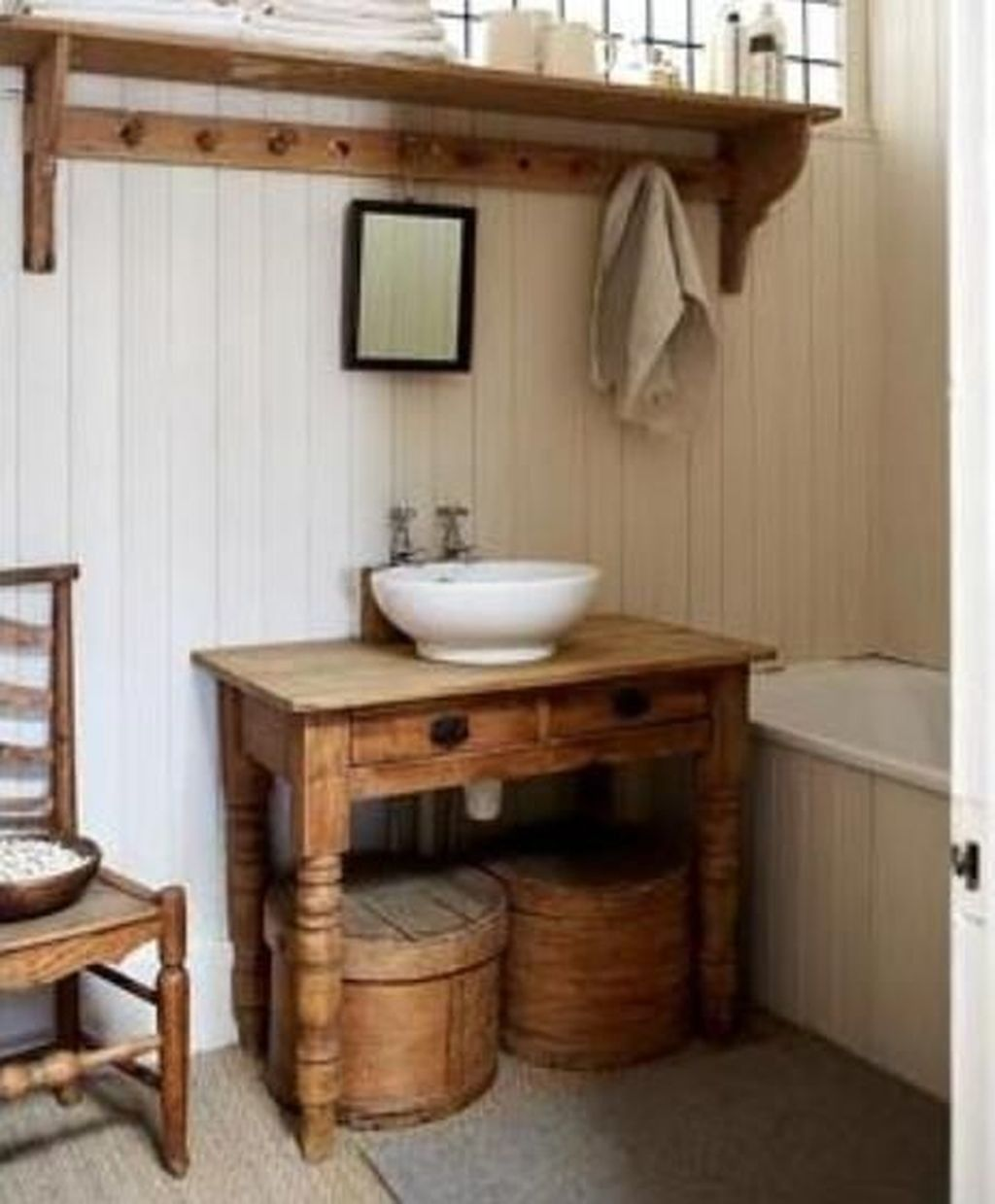 Lovely Farmhouse Bathroom Design Ideas 03