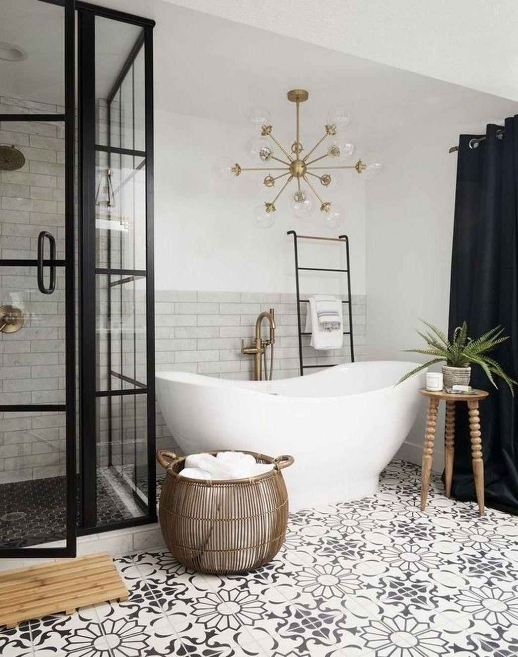 Lovely Farmhouse Bathroom Design Ideas 05