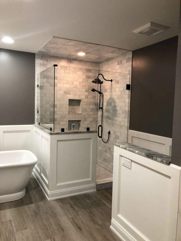 Lovely Farmhouse Bathroom Design Ideas 29