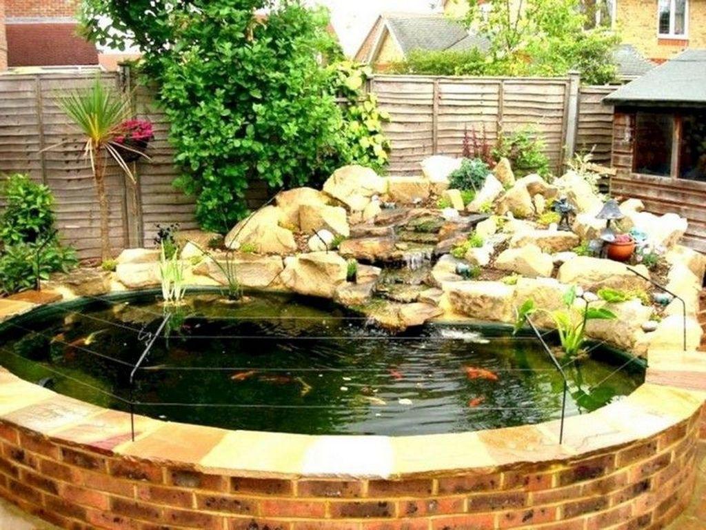 Nice Fish Ponds Backyard Decoration Ideas 09