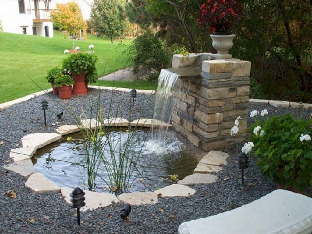 Nice Fish Ponds Backyard Decoration Ideas 12