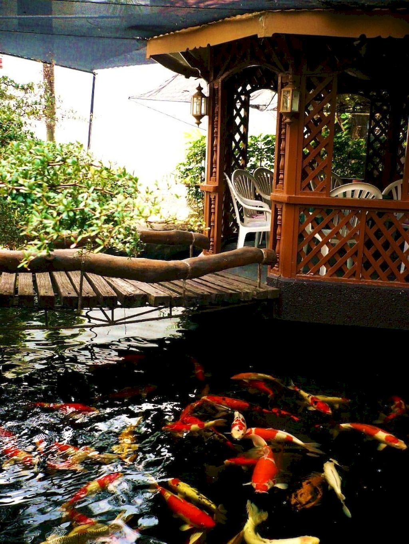 Nice Fish Ponds Backyard Decoration Ideas 27