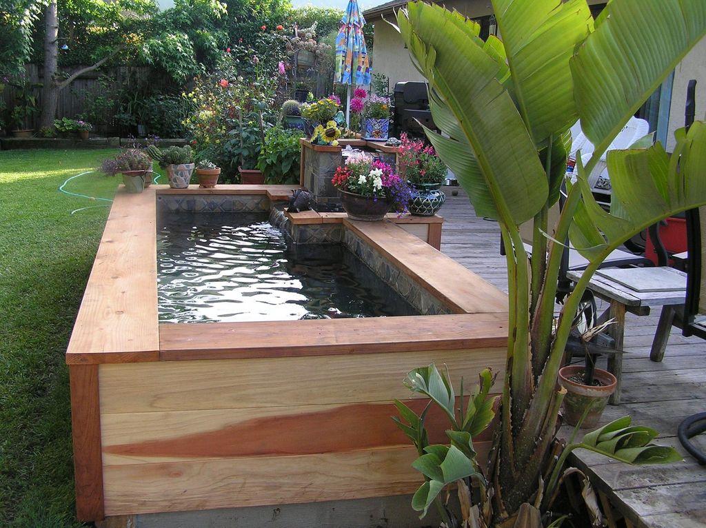 Nice Fish Ponds Backyard Decoration Ideas 28