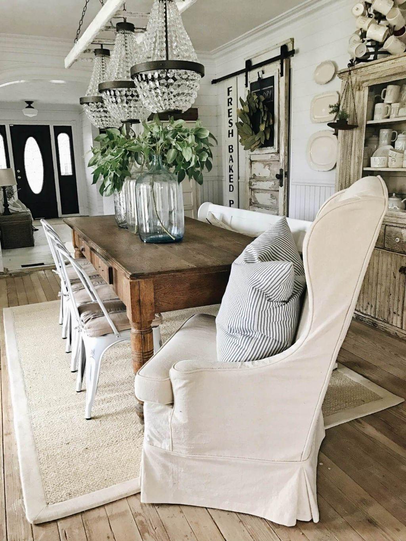 Stunning Farmhouse Interior Design Ideas To Realize Your Dreams 09