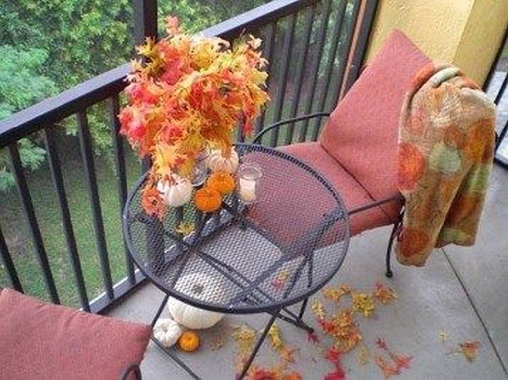 The Best Apartment Balcony Decor Ideas For Fall Season 22