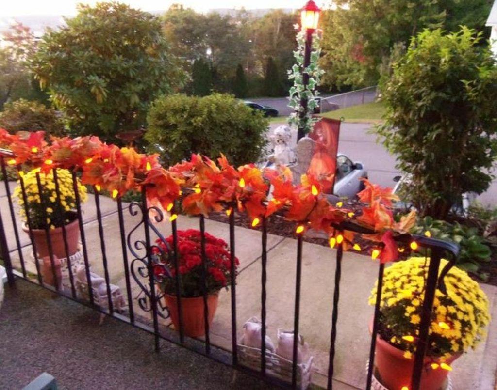 The Best Apartment Balcony Decor Ideas For Fall Season 34