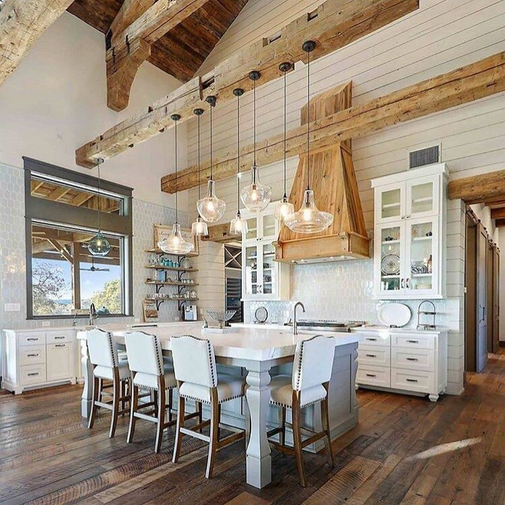 The Best Farmhouse Kitchen Design Ideas For You Try 01