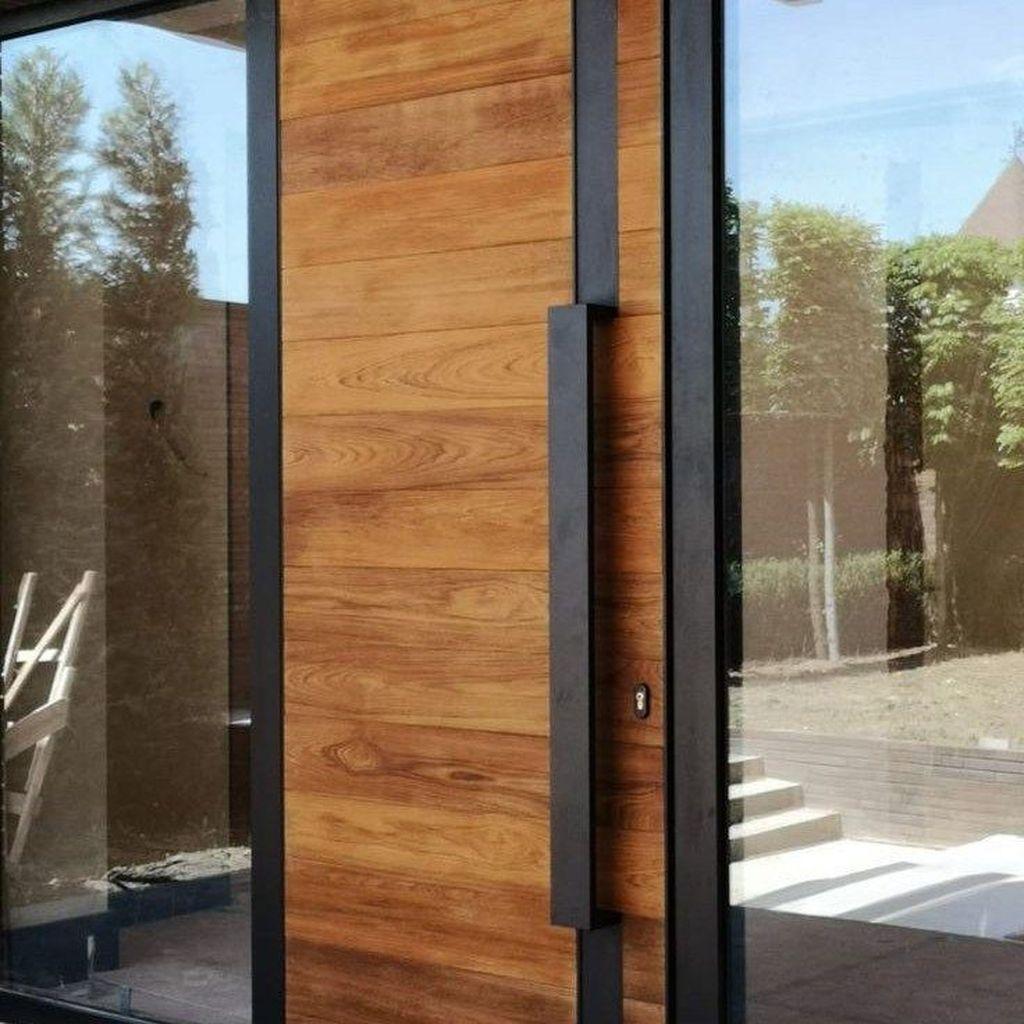The Best Modern Front Entrance Exterior Design Ideas 08