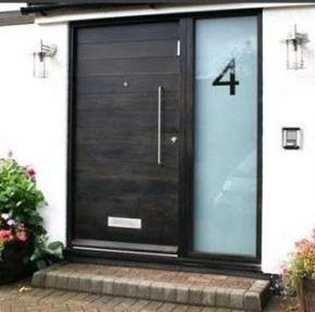 The Best Modern Front Entrance Exterior Design Ideas 18