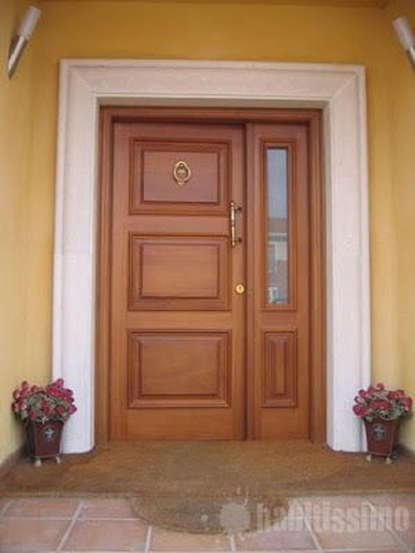 The Best Modern Front Entrance Exterior Design Ideas 30