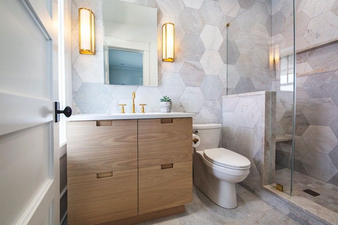 The Best Stone Tile Bathroom Ideas To Decorate Your Bathroom 07