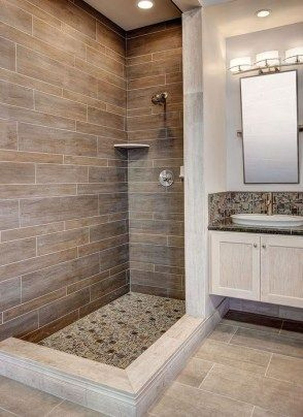 The Best Stone Tile Bathroom Ideas To Decorate Your Bathroom 24