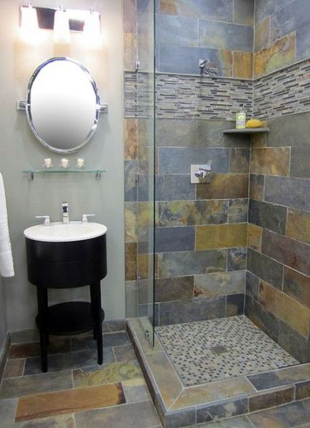 The Best Stone Tile Bathroom Ideas To Decorate Your Bathroom 34