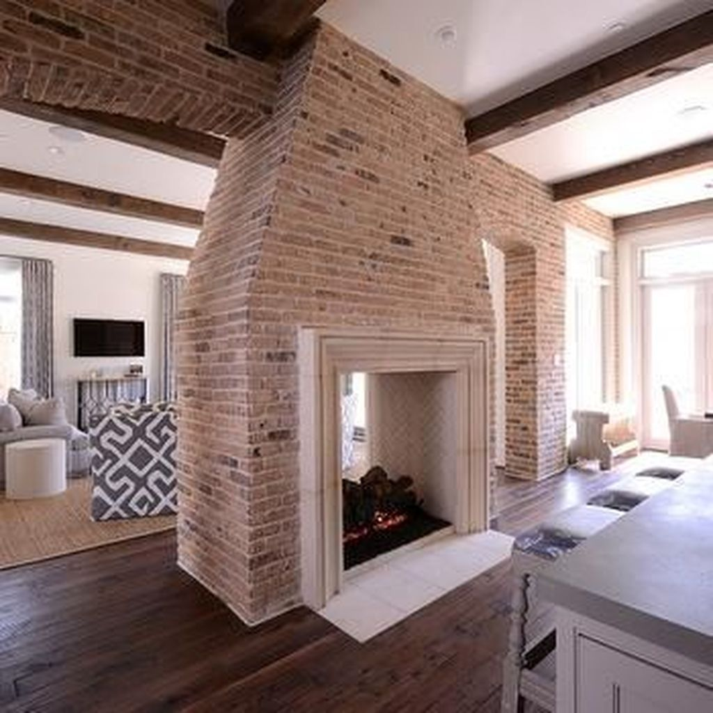 Awesome Living Room Design Ideas With Fireplace 01