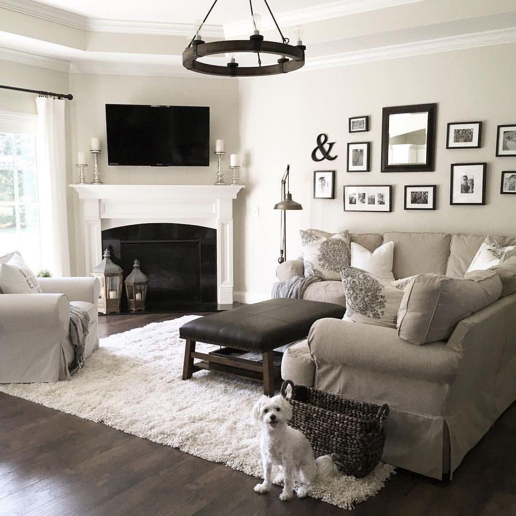 Awesome Living Room Design Ideas With Fireplace 26