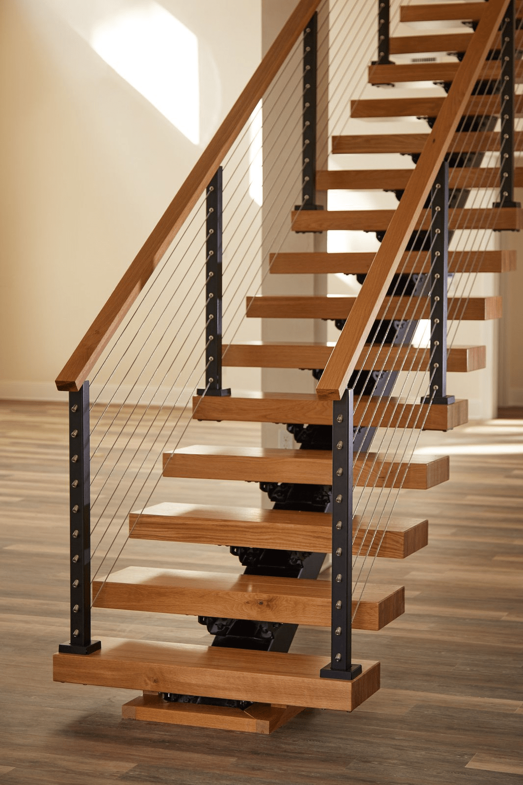 Beautiful Home Stairs Design Ideas With Modern Style 08