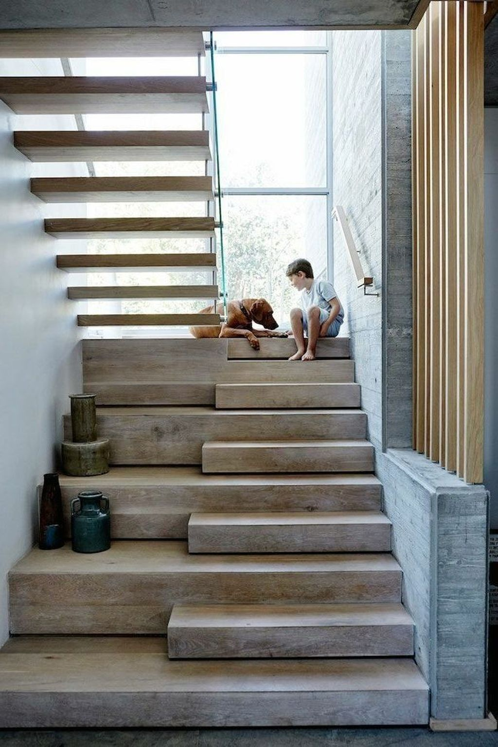 Beautiful Home Stairs Design Ideas With Modern Style 09