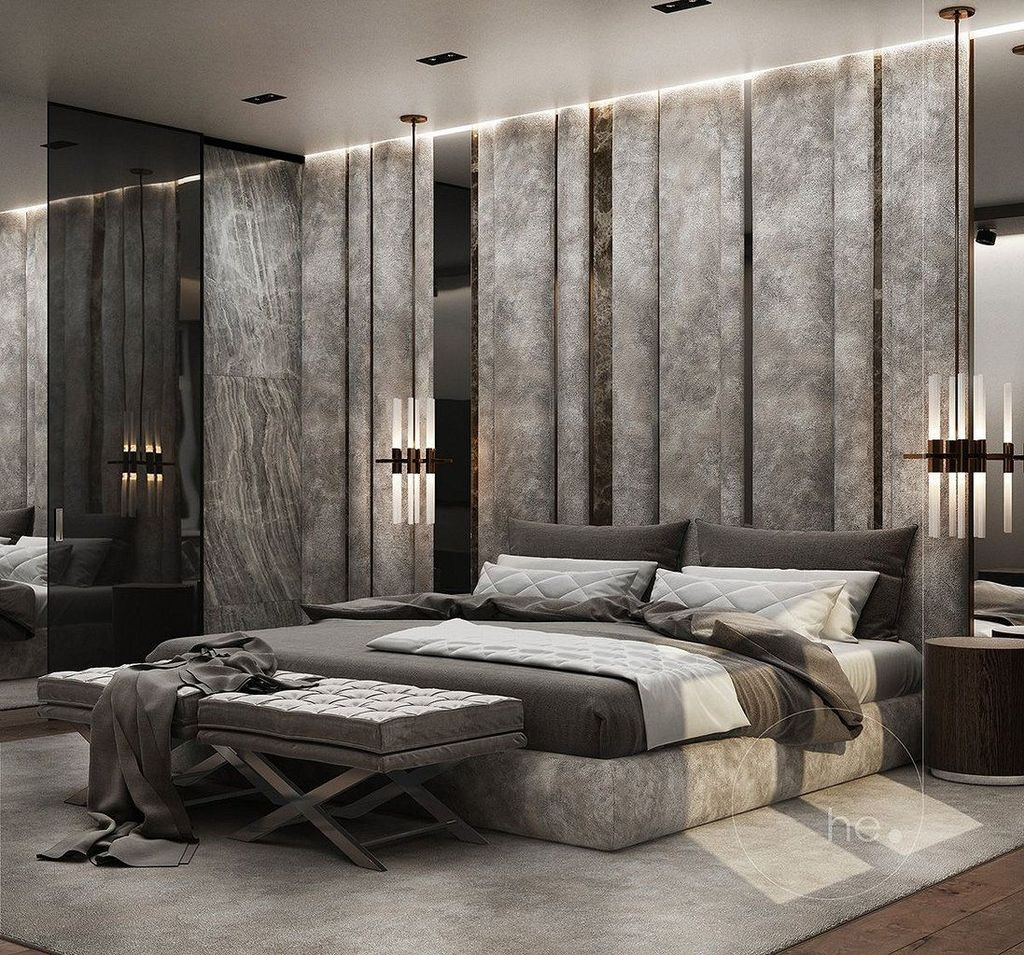 Fabulous Contemporary Bedroom Design Ideas 19