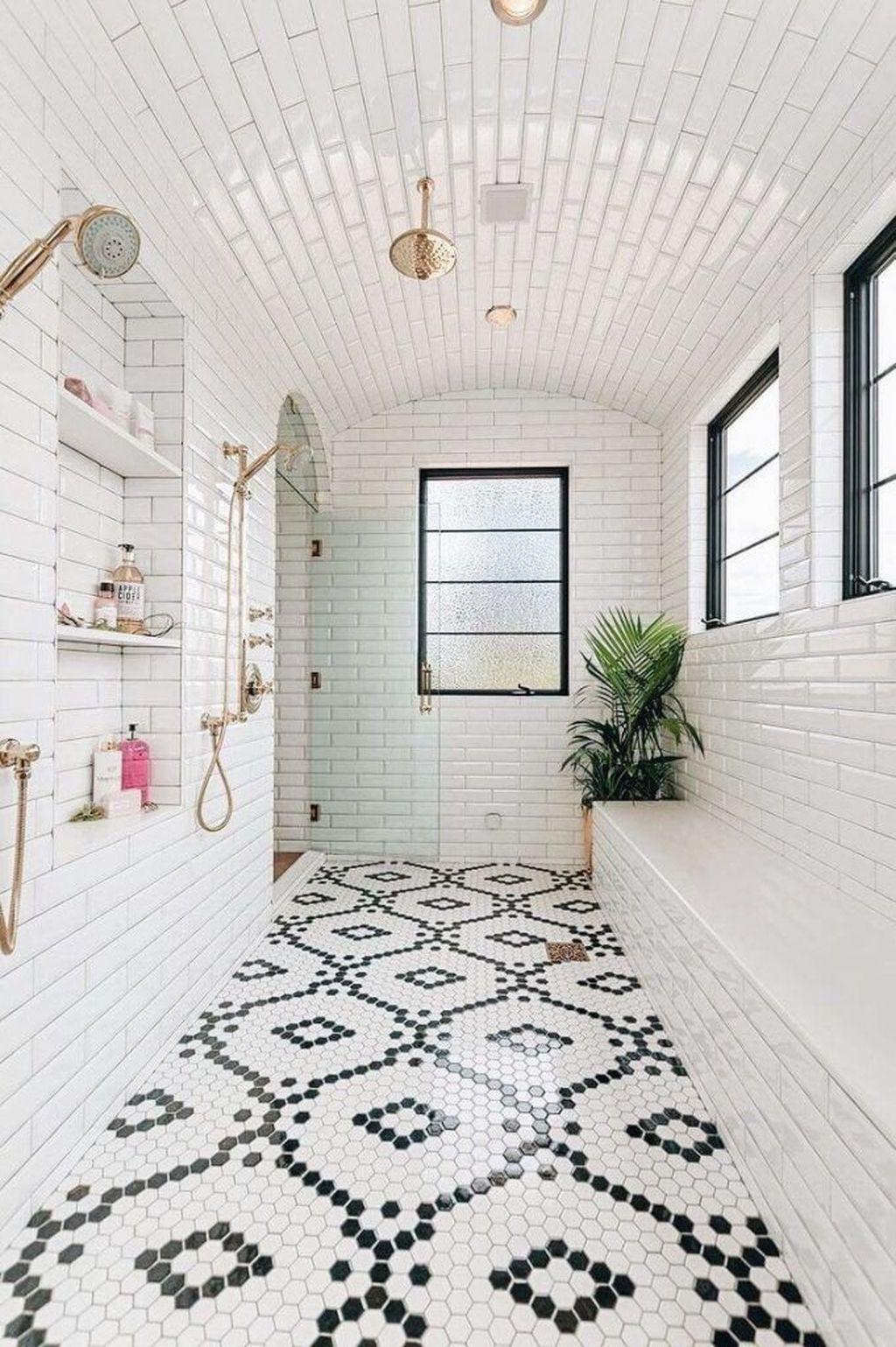 Inspiring Bathroom Tile Ideas 09
