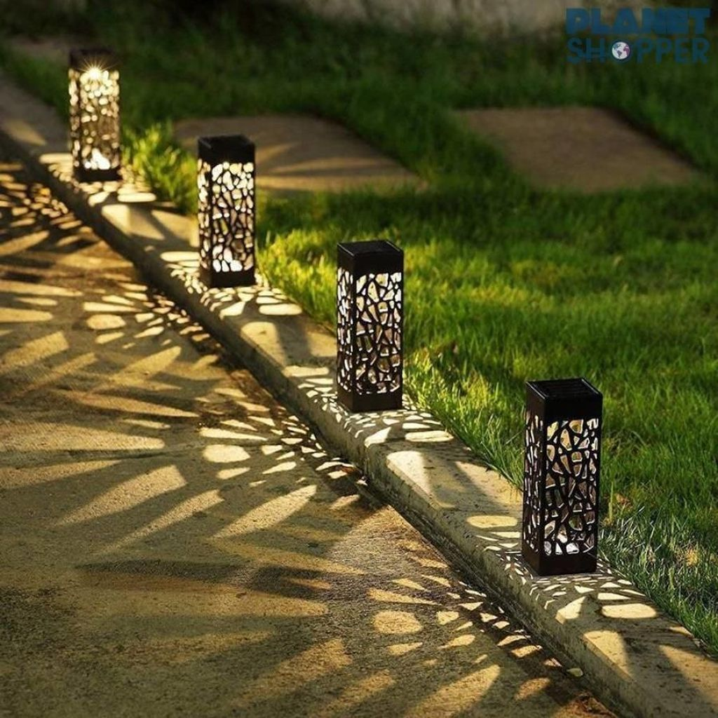 Inspiring Garden Lamps Ideas For Outdoors Decor 14
