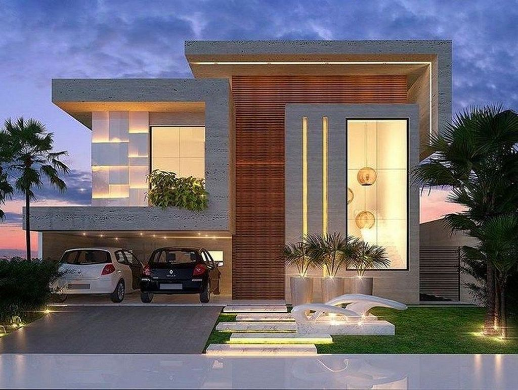 Inspiring Modern House Architecture Design Ideas 06