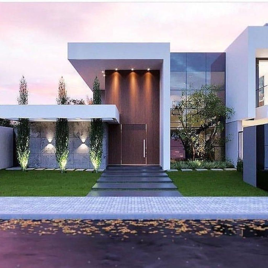 Inspiring Modern House Architecture Design Ideas 09