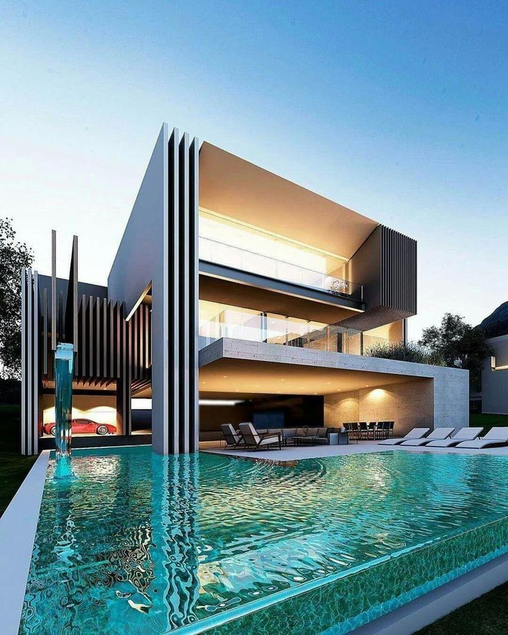 Inspiring Modern House Architecture Design Ideas 18