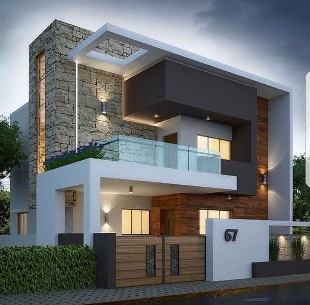 Inspiring Modern House Architecture Design Ideas 24