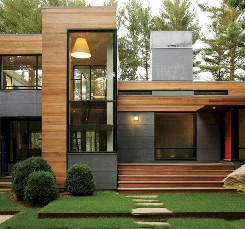Inspiring Modern House Architecture Design Ideas 26