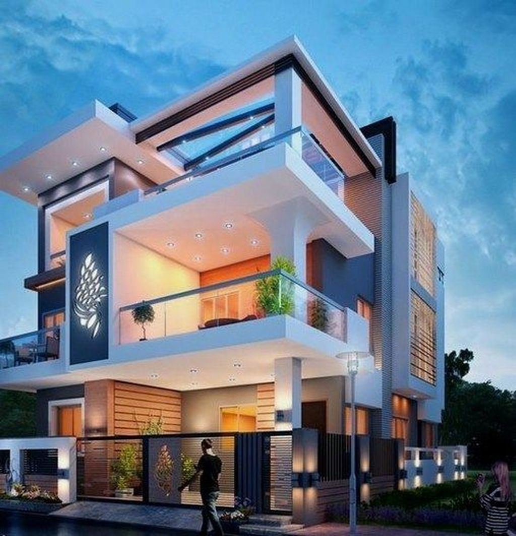 Inspiring Modern House Architecture Design Ideas 28