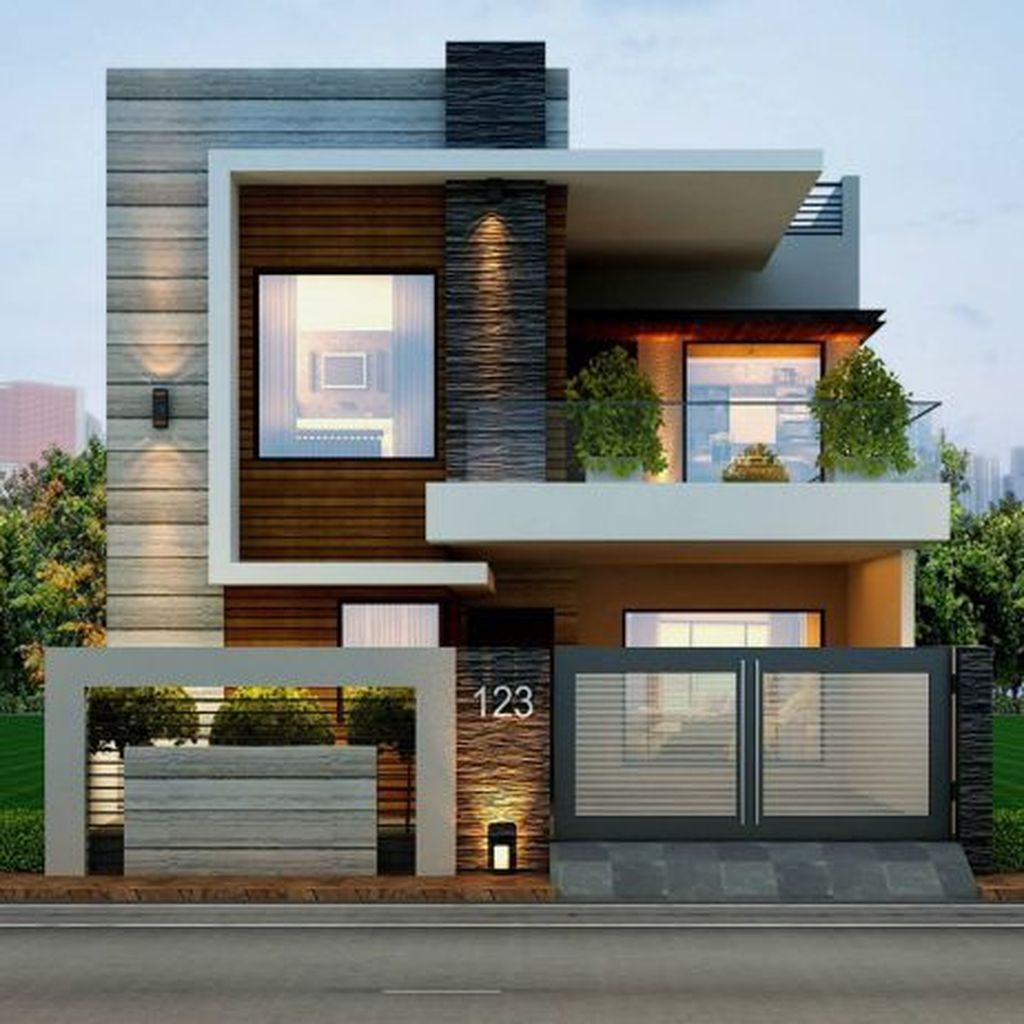 Inspiring Modern House Architecture Design Ideas 32