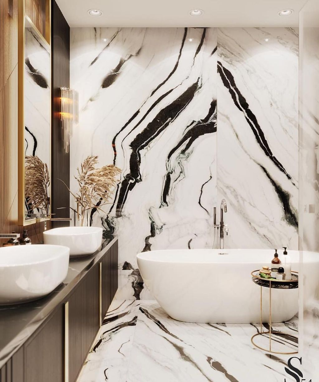 Luxury Bathroom Design And Decor Ideas 09