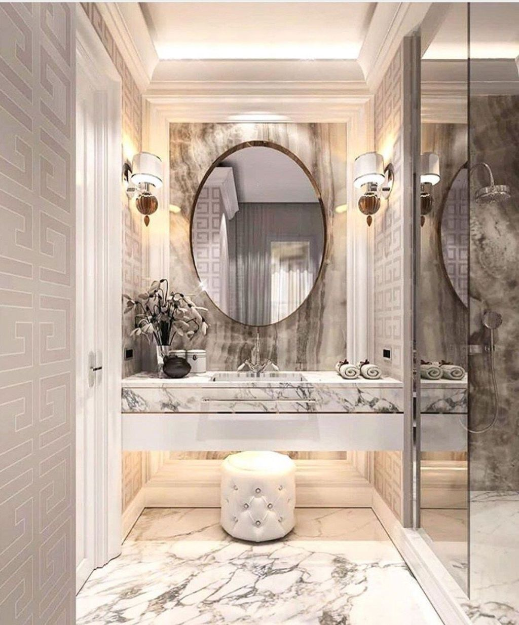 Luxury Bathroom Design And Decor Ideas 12