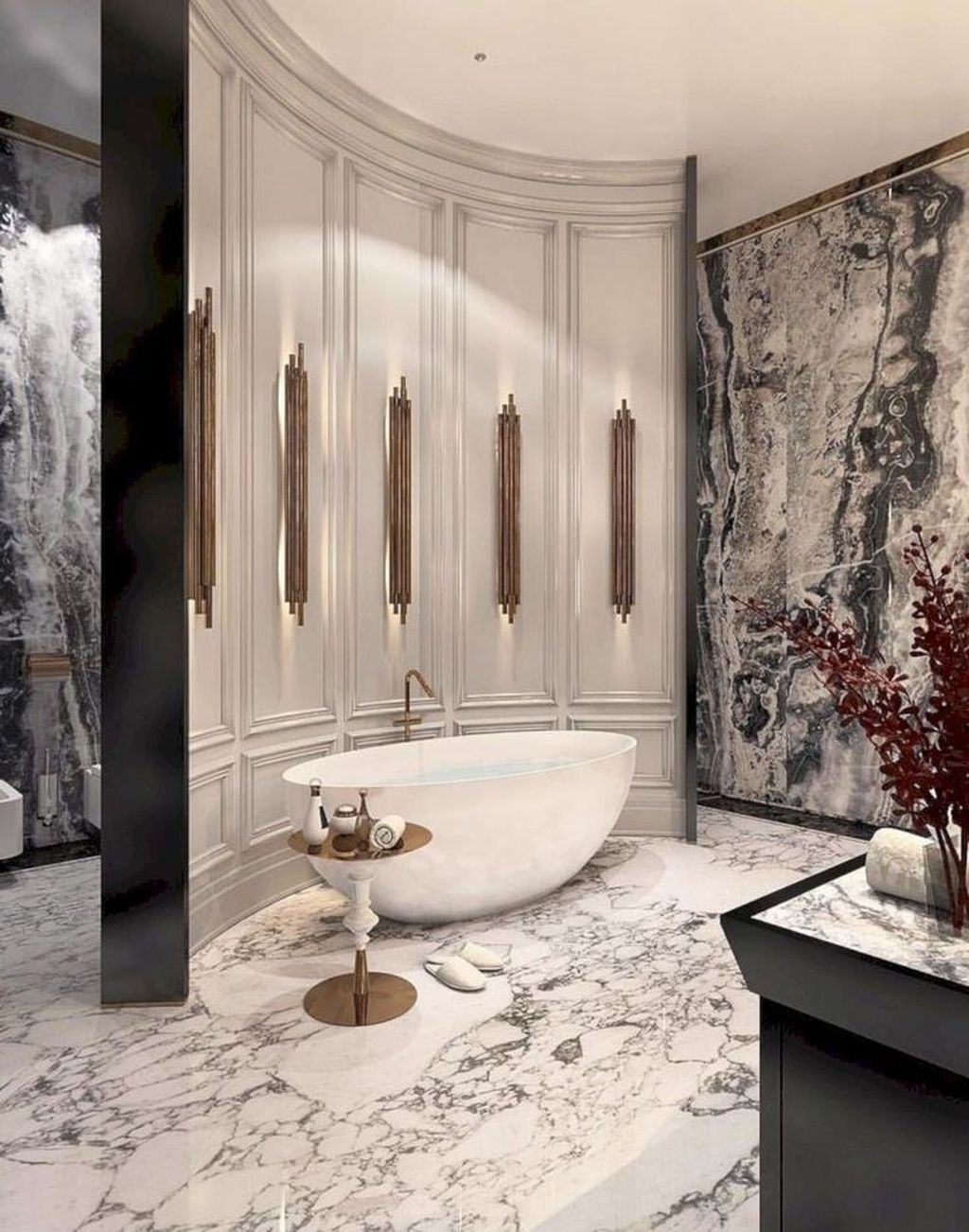 Luxury Bathroom Design And Decor Ideas 16
