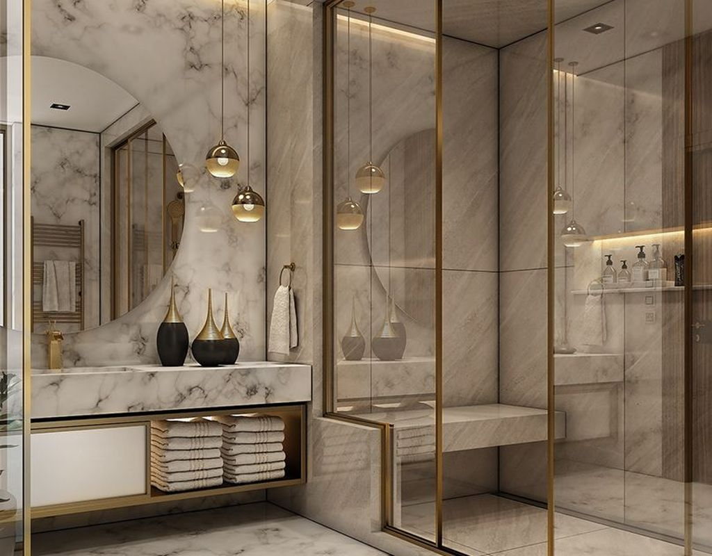 Luxury Bathroom Design And Decor Ideas 20
