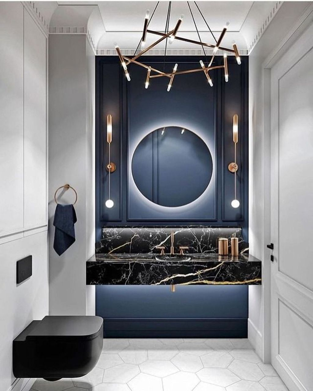 Luxury Bathroom Design And Decor Ideas 22