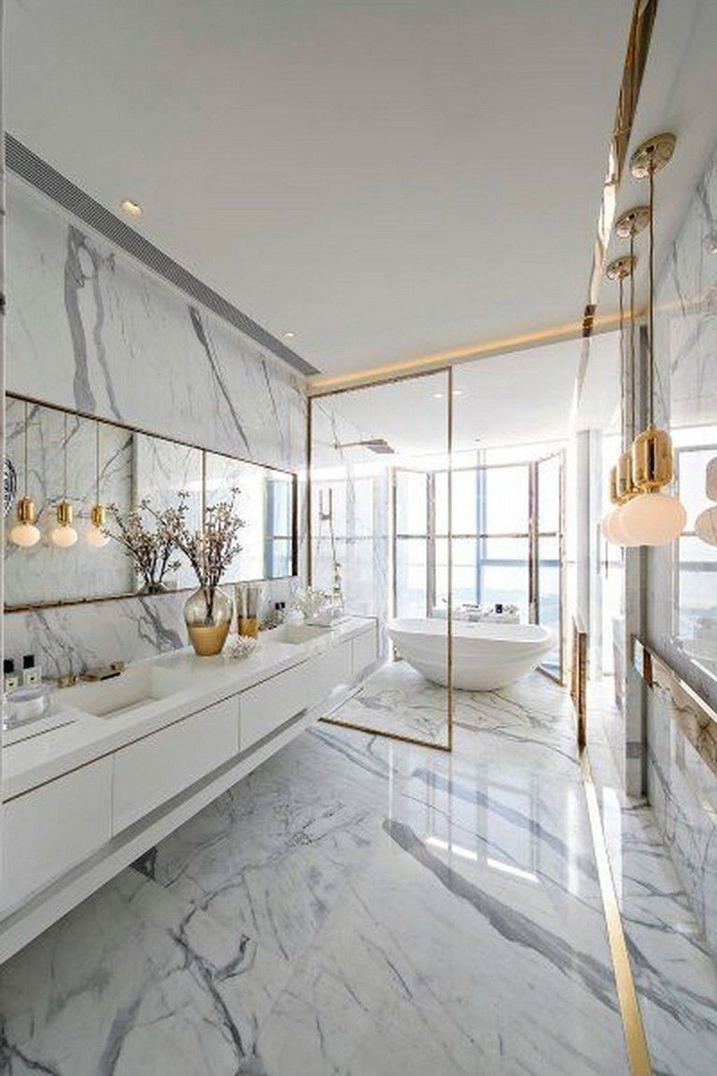 Luxury Bathroom Design And Decor Ideas 29