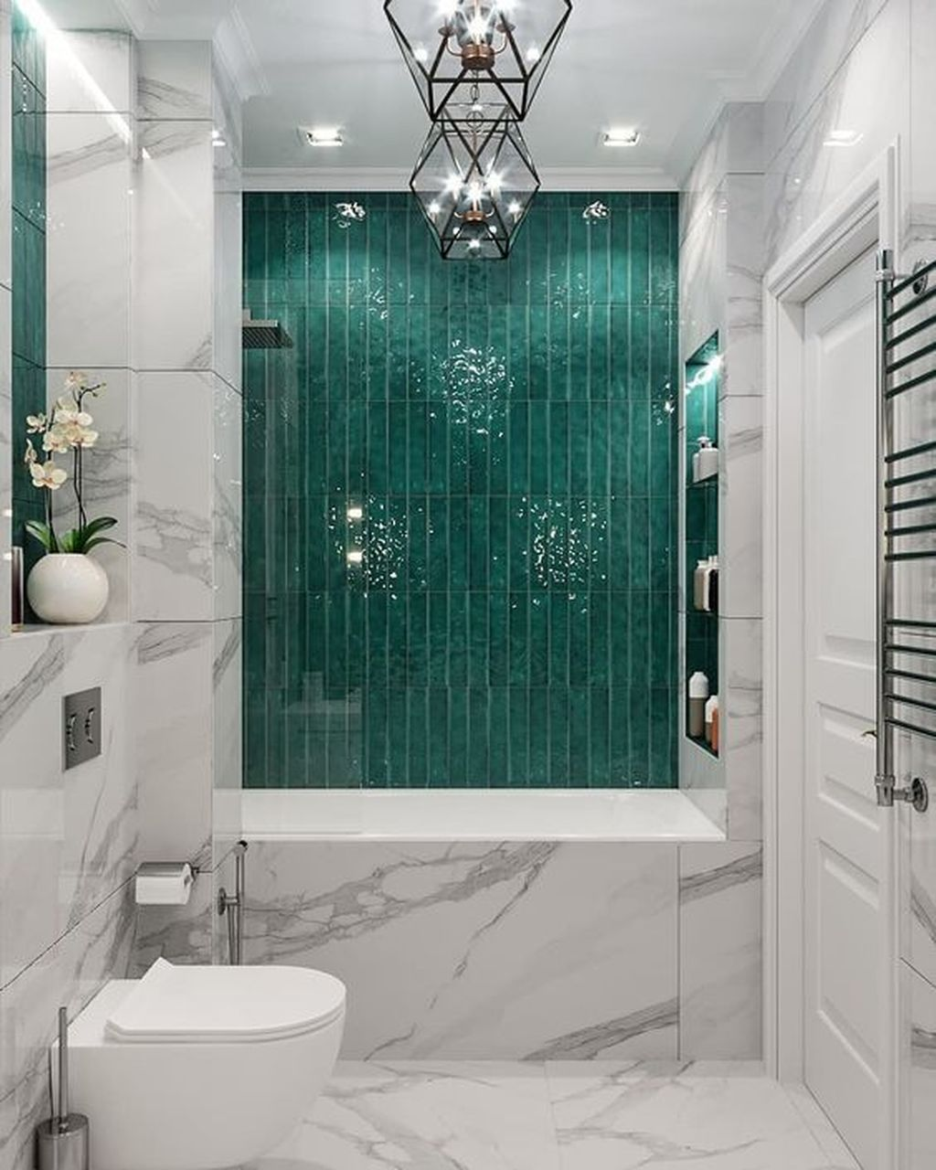 Luxury Bathroom Design And Decor Ideas 32