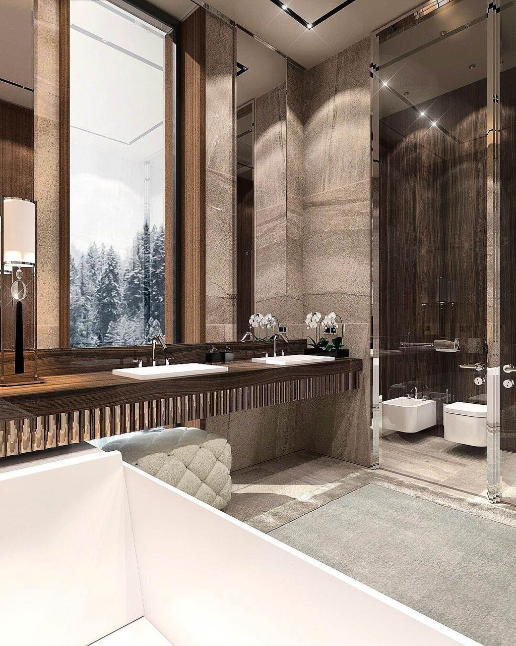 Luxury Bathroom Design And Decor Ideas 33