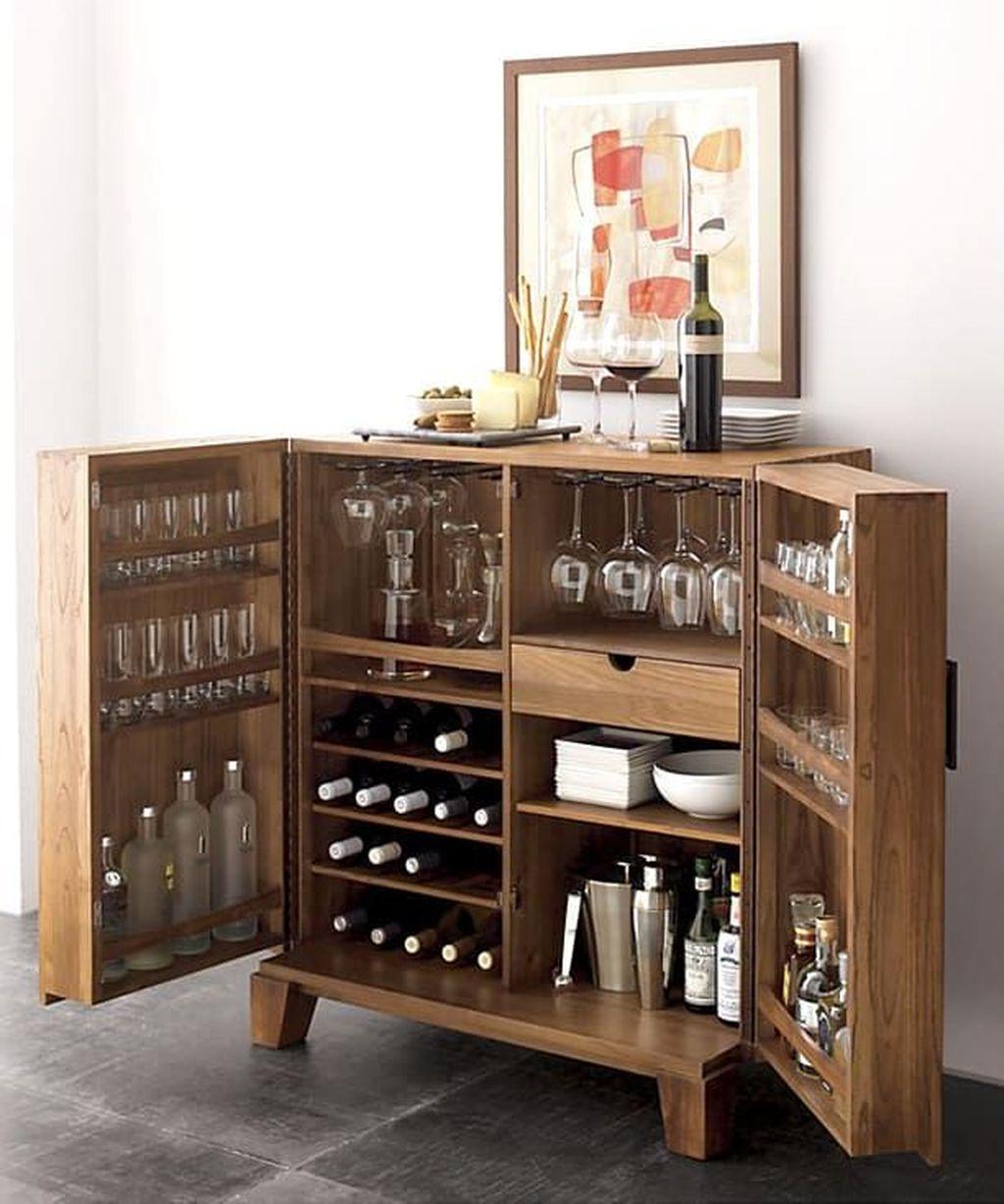 Popular Small Home Bar Design Ideas 10 1