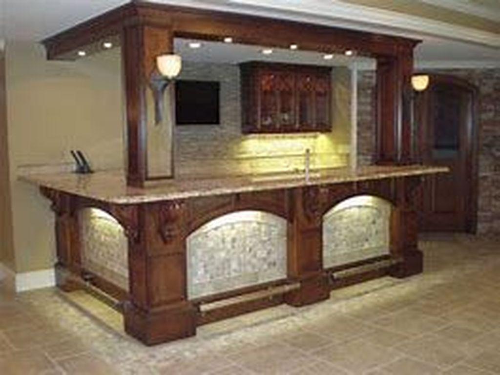 Popular Small Home Bar Design Ideas 29 1