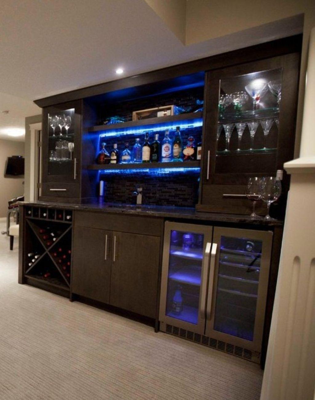 Popular Small Home Bar Design Ideas 33 1