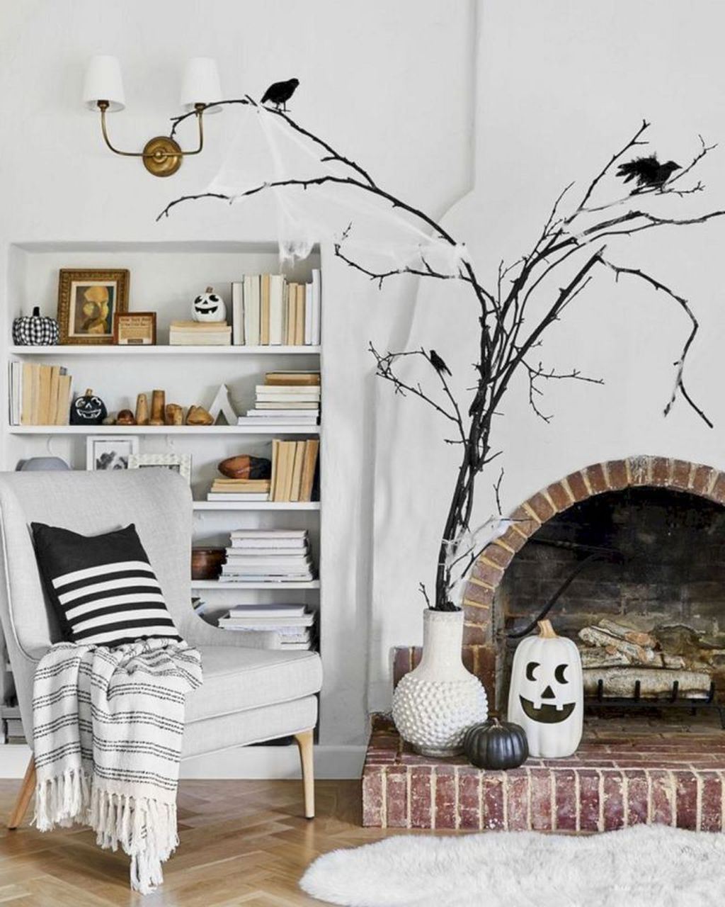 Stunning Halloween Living Room Decor Ideas Looks Scary 26