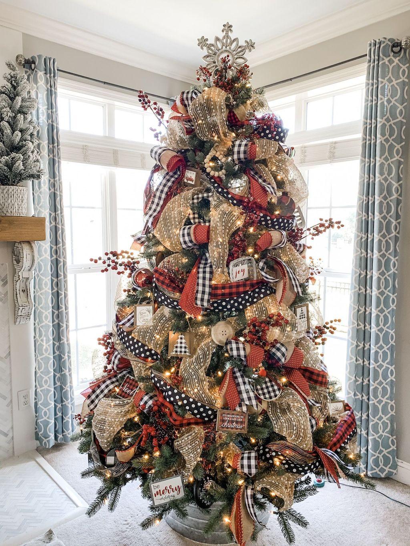 Beautiful Christmas Tree Decorations Ideas 25