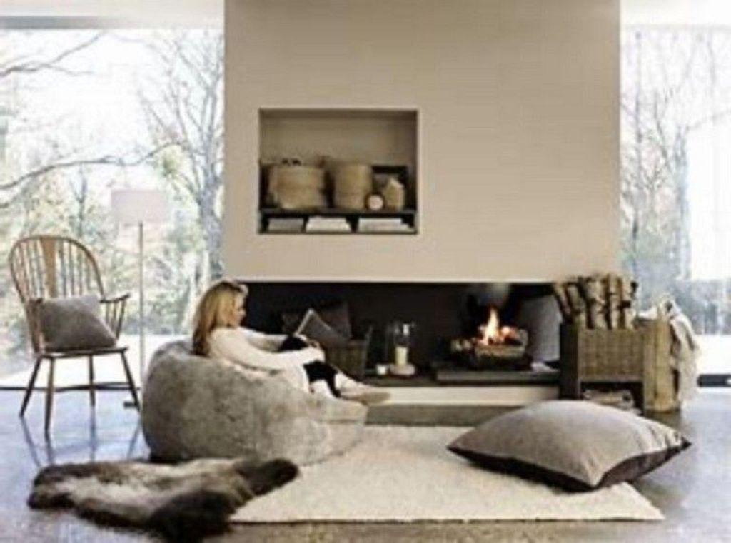 Fabulous Winter Living Room Decor Ideas 09