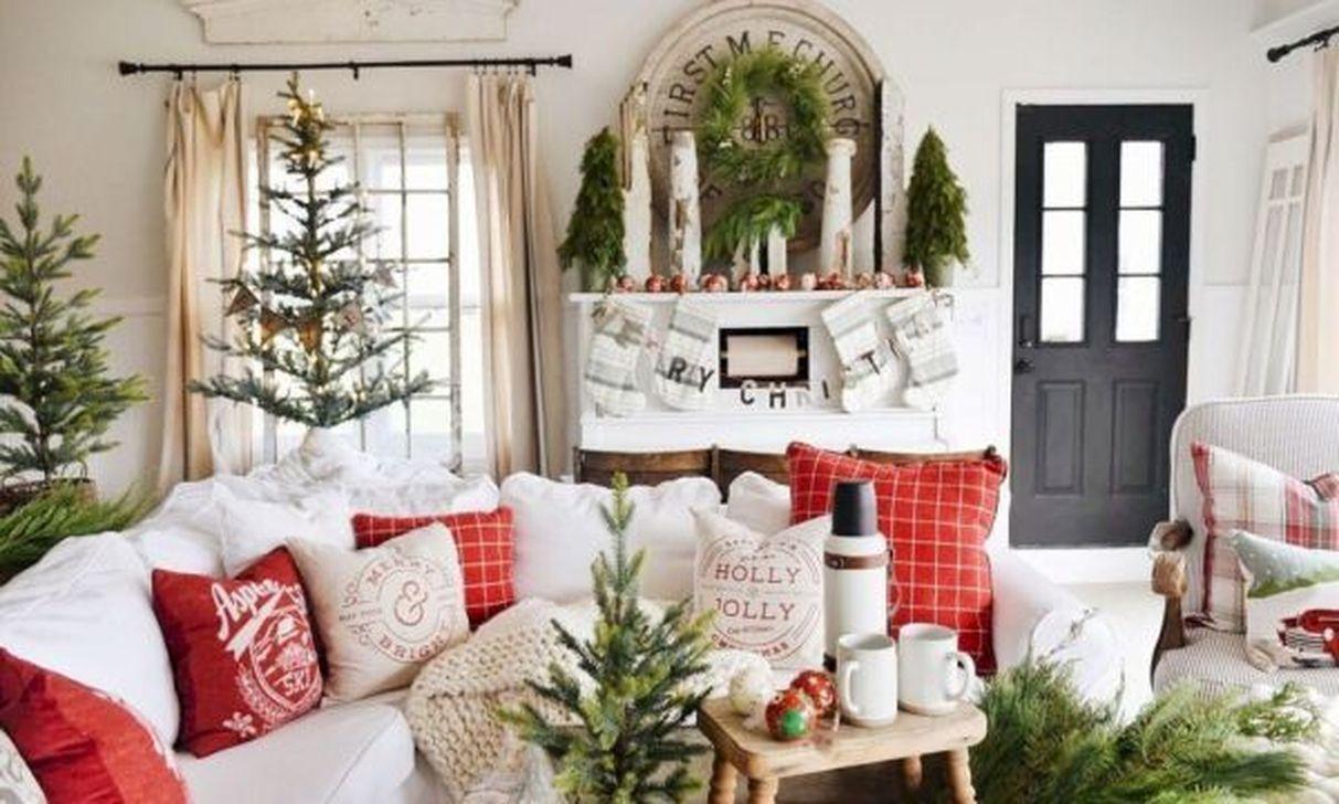 Fabulous Winter Living Room Decor Ideas 22