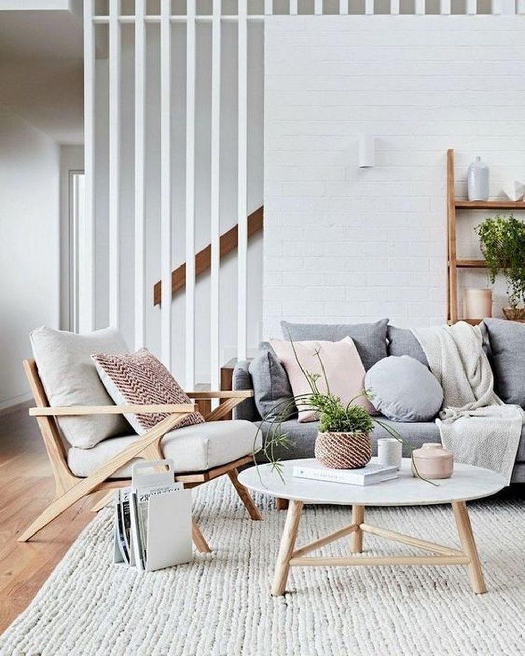 Fabulous Winter Living Room Decor Ideas 24