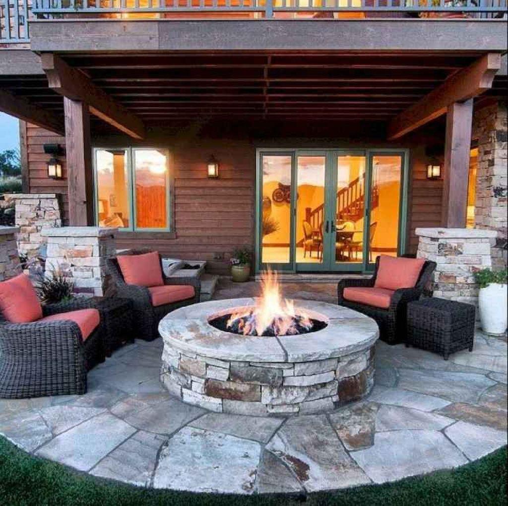 Inspiring Backyard Fire Pit Ideas 15