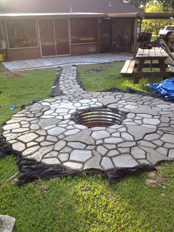 Inspiring Backyard Fire Pit Ideas 24